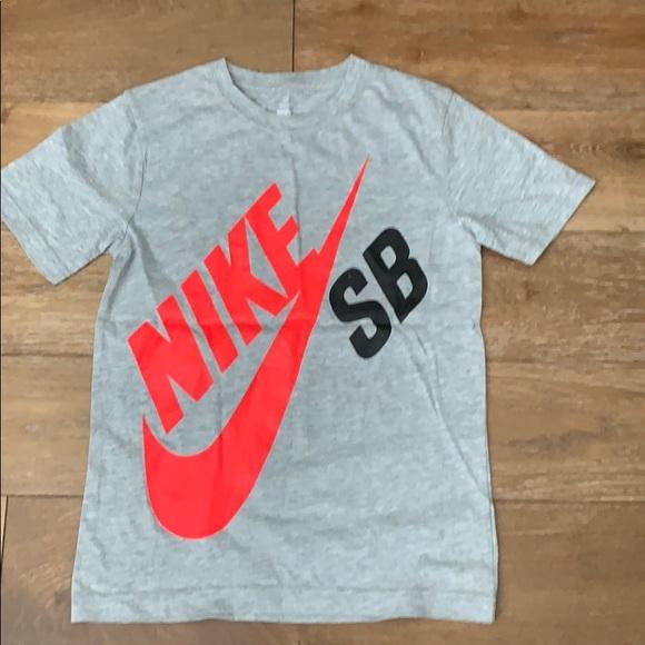 48af2c7db Nike Tops | Sb Big Logo Boys Tshirt New Without Tags | Poshmark